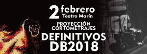 PROYECCIÓN DE CORTOS DEFINITIVOS DB 2018