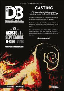 Casting actores/actrices Desafío Buñuel 2018